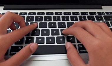 Ma kirjutan teksti paberilt arvutisse