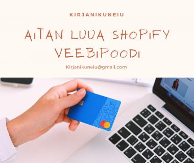 Ma loon shopify veebilehe
