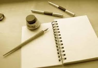 Ma kirjutan artikleid, referaate jne.