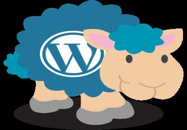 Ma paigaldan Wordpressi