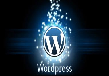 tõstan Sinu olemasoleva kodulehe üle Wordpressile