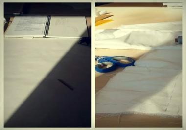 Konstrueerin / Koostan lõikeid