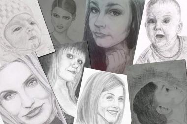 Ma joonistan portreesid