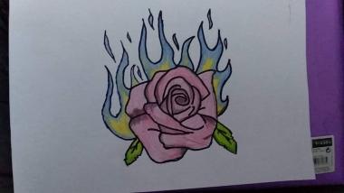 Ma joonistan kurbust ja rõõmu ning ka joonistan kõike