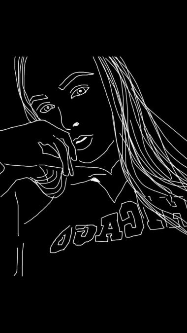 joonistan pilte arvutis must-valgelt