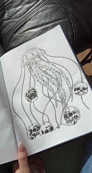 Disainin tatoveeringu kavandeid