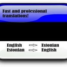 Ma pakun tõlketeenust ENG->EST->ENG